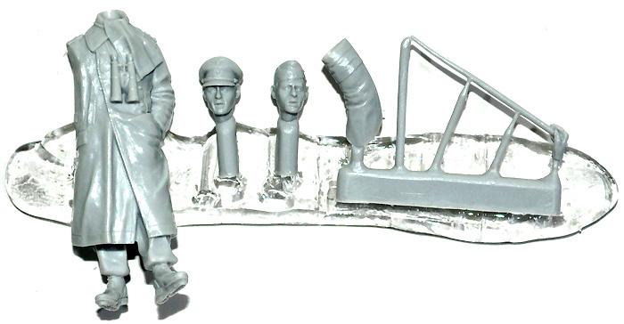 WW2 ドイツ 第1装甲師団 将校 #1レジン(アルパイン1/35 フィギュアNo.AM35136)商品画像_1