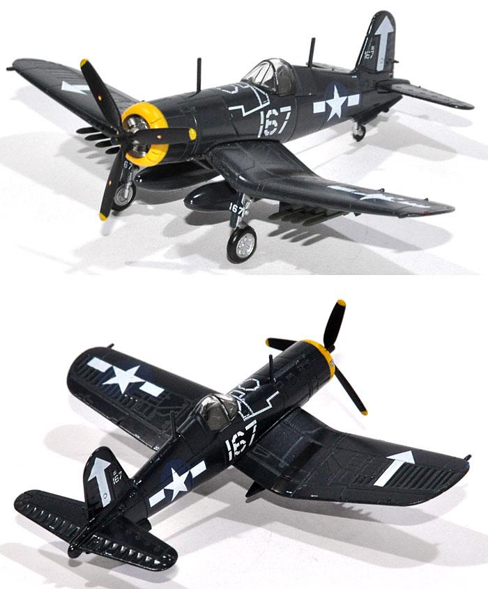 ヴォート F4U-1D コルセア VF-84 (USSバンカーヒル 1945年)完成品(Avioni-Xダイキャスト製完成品モデルNo.AV441013)商品画像_2