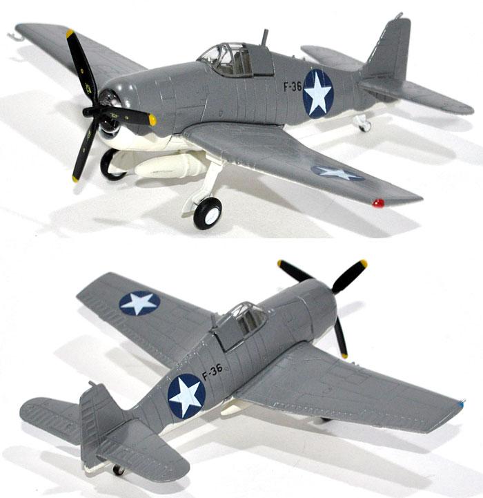 グラマン F6F-3 ヘルキャット VF-4 (1942年)完成品(Avioni-Xダイキャスト製完成品モデルNo.AV441018)商品画像_2