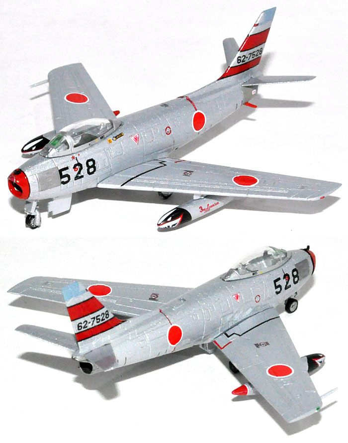 F-86F-40 セイバー 航空自衛隊 第2航空団 第3飛行隊 三沢基地 (62-7528) 完成品 (ホーガンウイングス M-SERIES No.7563) 商品画像_2