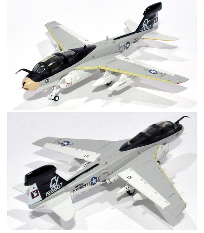 EA-6B プラウラー アメリカ海兵隊 VMAQ-2 プレイボーイズ完成品(ホーガンウイングスM-SERIESNo.7662)商品画像_2