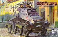 Sd.kfz.232 (8-Rad) 8輪重装甲無線偵察車 (初期型)