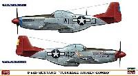 P-51D ムスタング タスキギー エアメン コンボ (2機セット)