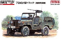 ファインモールド1/35 ミリタリー自衛隊 73式 小型トラック (機関銃装備)