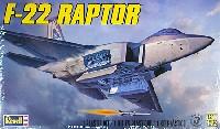 レベル1/72 飛行機F-22 ラプター