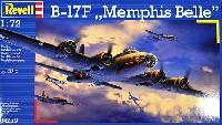 レベル1/72 飛行機B-17F フライングフォートレス メンフィスベル