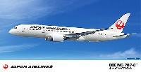 ハセガワ1/200 飛行機シリーズ日本航空 ボーイング 787-8