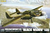 グレートウォールホビー1/48 ミリタリーエアクラフト プラモデルP-61A ブラックウィドウ グラスノーズ