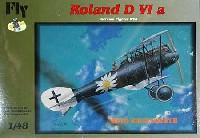ドイツ ローランド D.6a オットーキッセンベルス乗機