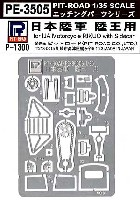ピットロード1/35 エッチングパーツ シリーズ日本陸軍 陸王用 エッチングパーツ