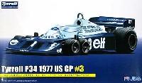 フジミ1/20 GPシリーズティレル P34 1977 アメリカGP #3 ロニー・ピーターソン ロングホイールバージョン