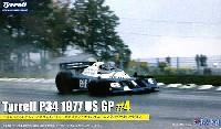 フジミ1/20 GPシリーズティレル P34 1977 アメリカGP #4 パトリック・デュパイエ ロングホイールバージョン