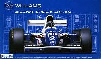 フジミ1/20 GPシリーズ SP (スポット)ウィリアムズ FW16 1994年 サンマリノGP仕様 (カルトグラフデカール&エッチングパーツ付き)