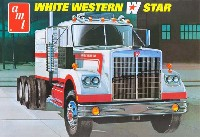amt1/25 カーモデルホワイト ウエスタンスター セミ トラクター