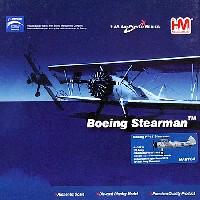 ホビーマスター1/48 エアパワー シリーズ (レシプロ)ステアマン PT-17 アメリカ陸軍 1942年製造 (41-25714)