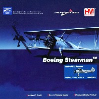 ホビーマスター1/48 エアパワー シリーズ (レシプロ)ステアマン PT-17 イスラエル空軍 (4X-ACH/31)