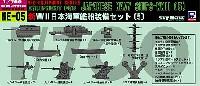 ピットロードスカイウェーブ NE シリーズ新WW2 日本海軍艦船装備セット (5)