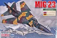 ミニクラフト1/144 軍用機プラスチックモデルキットソビエト軍 MiG-23