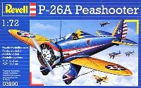 レベル1/72 飛行機P-26A ピーシューター
