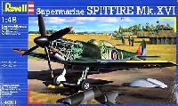 レベル1/48 飛行機モデルスーパーマリン スピットファイア Mk.16