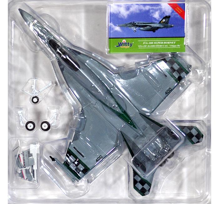 F/A-18E スーパーホーネット VFA-195 ダムバスターズ CAG チッピー・ホー完成品(ウイッティ・ウイングス1/72 スカイ ガーディアン シリーズ (現用機)No.75220)商品画像_1