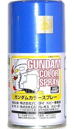 MSライトブルースプレー塗料(GSIクレオスガンダムカラースプレーNo.SG014)商品画像