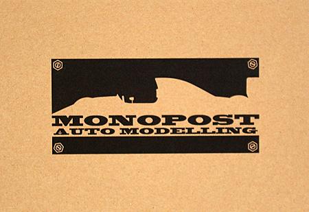 マクラーレン MP4/27 前半戦仕様レジン(モノポスト1/20 オリジナルレジンキットNo.MP020)商品画像