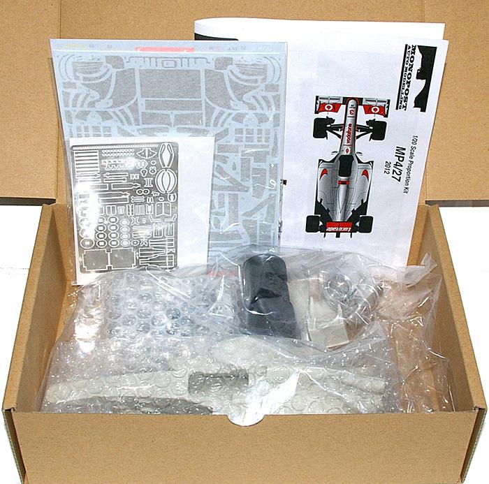 マクラーレン MP4/27 前半戦仕様レジン(モノポスト1/20 オリジナルレジンキットNo.MP020)商品画像_1