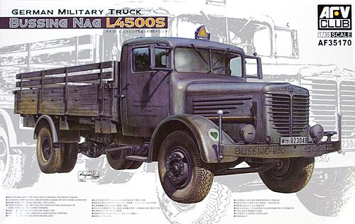 ドイツ ビュッシング Nag L4500S トラックプラモデル(AFV CLUB1/35 AFV シリーズNo.AF35170)商品画像