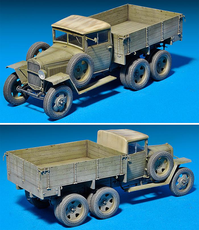 GAZ-AAA Mod.1943 カーゴトラックプラモデル(ミニアート1/35 WW2 ミリタリーミニチュアNo.35133)商品画像_3