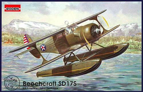 ビーチクラフト SD 17S 水上機プラモデル(ローデン1/48 エアクラフト プラモデルNo.448)商品画像