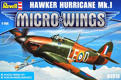 ホーカー ハリケーン Mk.1プラモデル(レベルMicro WingsNo.04913)商品画像