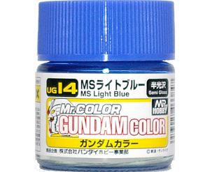 MSライトブルー塗料(GSIクレオスガンダムカラー (単色)No.UG014)商品画像