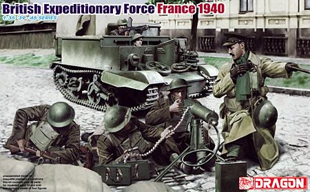 イギリス海外派遣軍 フランス 1940プラモデル(ドラゴン1/35 39-45 SeriesNo.6552)商品画像