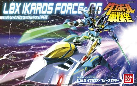 LBX イカロス・フォース & RS (ライディングソーサ)プラモデル(バンダイダンボール戦機No.0176964)商品画像