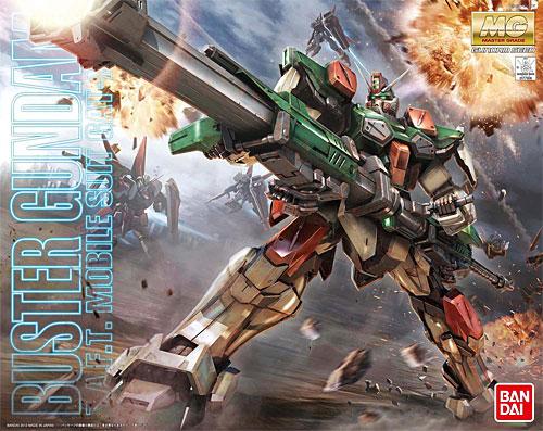 GAT-X103 バスターガンダムプラモデル(バンダイMASTER GRADE (マスターグレード)No.0177908)商品画像