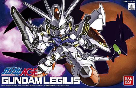 ガンダムレギルスプラモデル(バンダイSDガンダム BB戦士No.374)商品画像