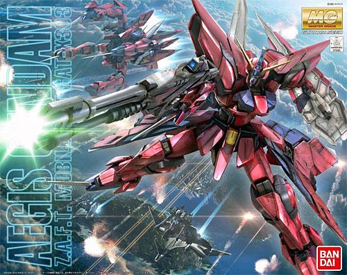 GAT-X303 イージスガンダムプラモデル(バンダイMASTER GRADE (マスターグレード)No.0178383)商品画像