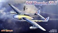 イギリス空軍 戦闘爆撃機 デ・ハビランド・バンパイア FB.5