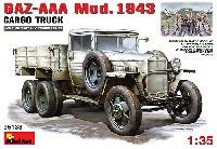 ミニアート1/35 WW2 ミリタリーミニチュアGAZ-AAA Mod.1943 カーゴトラック