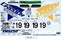 タブデザイン1/24 デカールニッサン スカイライン GT-R (R33) JUN TRUST JGTC 1996