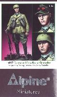 アルパイン1/16 フィギュアドイツ アフリカ軍団 擲弾兵