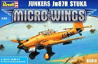レベルMicro Wingsユンカース Ju87B スツーカ