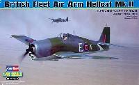 ホビーボス1/48 エアクラフト プラモデルイギリス海軍 ヘルキャット Mk.2