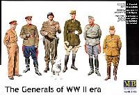 マスターボックス1/35 ミリタリーミニチュア元帥将軍 6体セット 日英米独露仏 各1体 (The Generals of WW2 era)