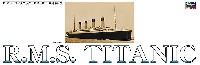 ハセガワ1/400 プラモデルR.M.S. タイタニック 1912 竣工100周年記念