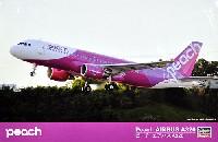 ハセガワ1/144 航空機シリーズピーチ エアバス A320
