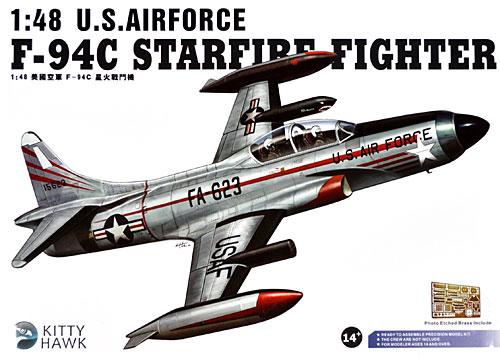 F-94C スターファイアプラモデル(キティホーク1/48 ミリタリーNo.KH80101)商品画像