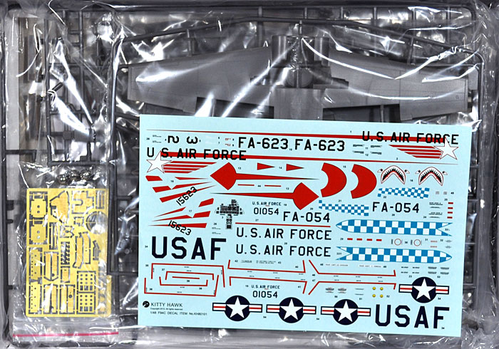 F-94C スターファイアプラモデル(キティホーク1/48 ミリタリーNo.KH80101)商品画像_1
