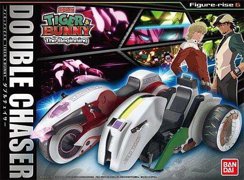 ダブルチェイサー (劇場版 TIGER&BUNNY The Beginning)プラモデル(バンダイフィギュアライズ 6No.0178606)商品画像